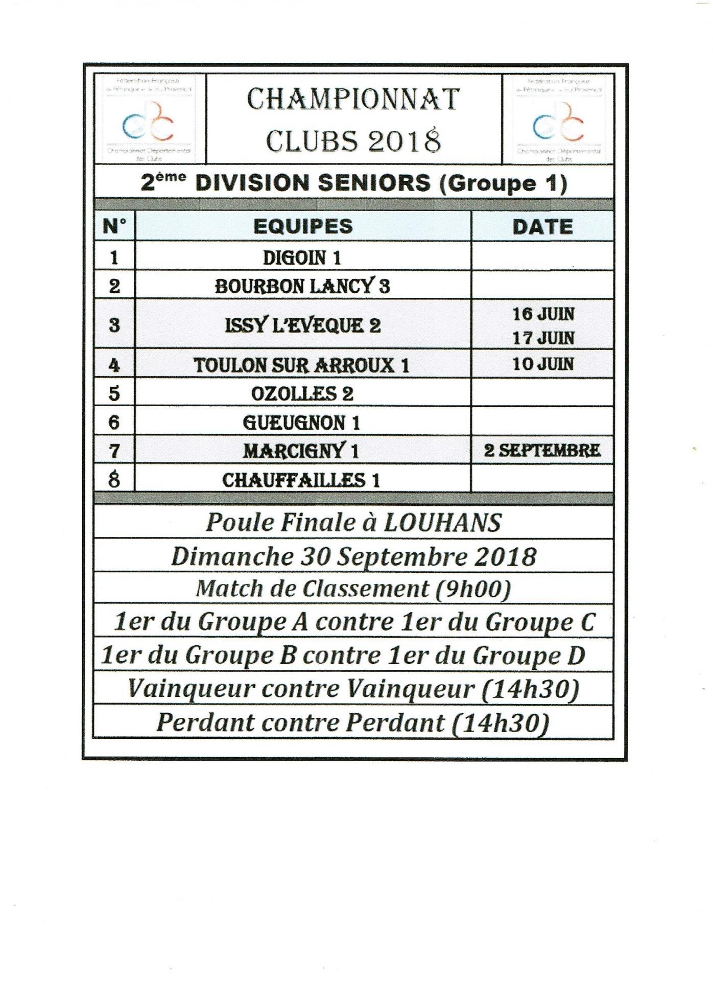 2eme division seniors g1