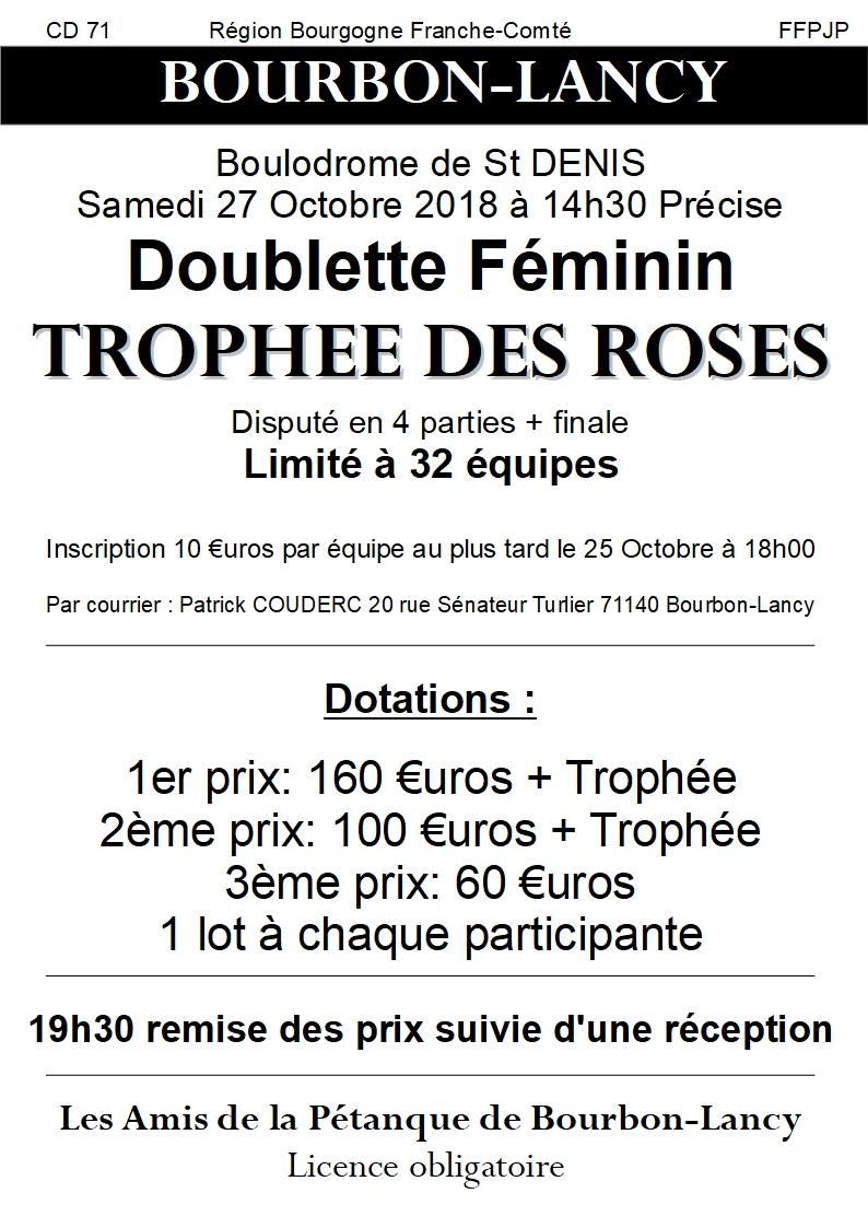 Affiche trophee des roses 2019