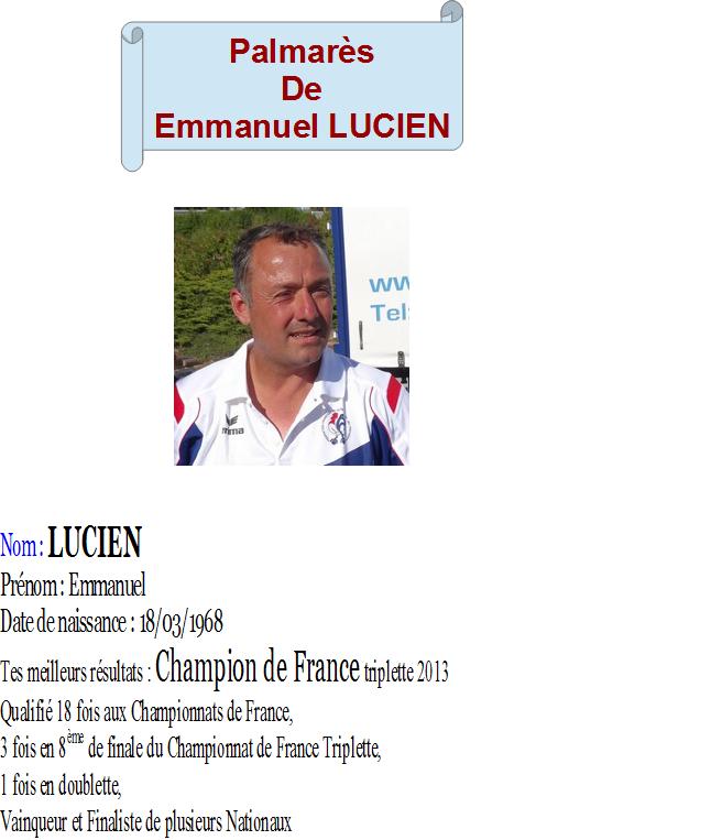 Emmanuel lucien