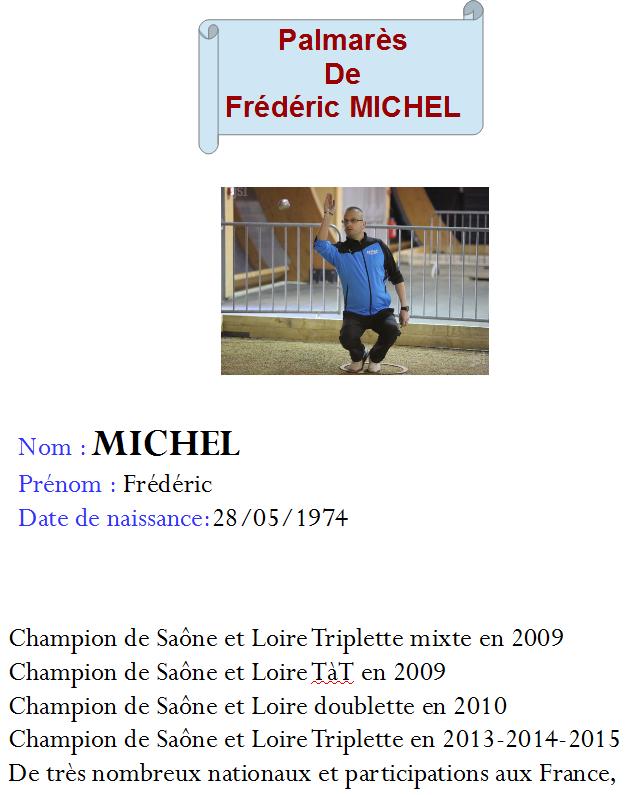 Frederic michel