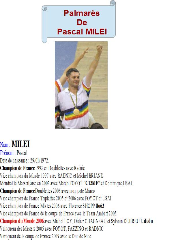 Pascal milei